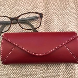 Accessories - Leather Eyeglass Case